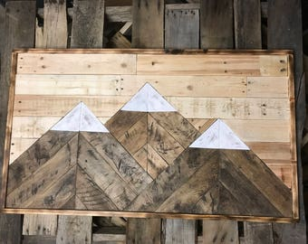 Wooden Mountain Mosaic