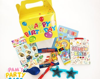 Children's Pre-filled Happy Birthday Party Boxes