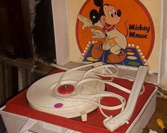 Mickey record player
