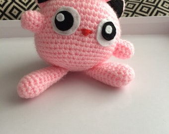 Crochet Jigglypuff Pokemon