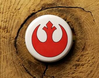"Rebel Alliance (1-1/4"" Pinback Button or Magnet)"
