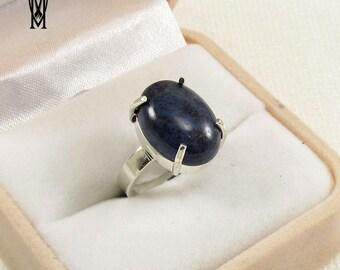 DJUMORTERIT NATURAL Sterling Silver 925 Handmade Jewelery, Fashionable Ring