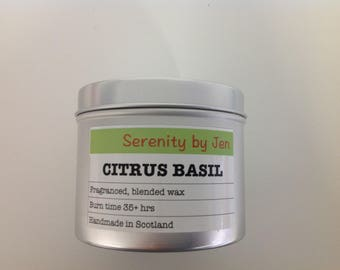 Serenity by Jen - Citrus Basil - Wax Melts