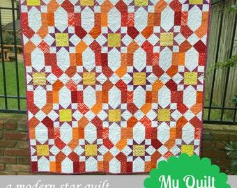 Starfire Quilt Pattern
