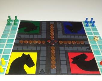 Small mosaic horse games
