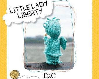 Little Lady Liberty Knitting Pattern Download 803225