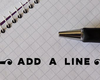 Add A Line