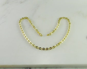 """14K Yellow Gold Link Necklace ( 17"""")"""