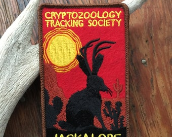 Cryptozoology Tracking Society: Jackalope Patch
