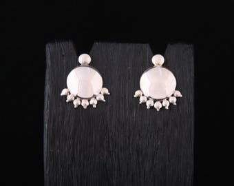 "Handmade earrings ""Bohemian spirit"" in silver"