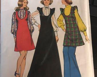 Vintage 60s Simplicity 5373 Dress Pattern-Size 16 (38-30-40)