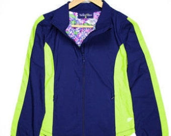 Turtles & Tee's Girls Windbreaker Jacket with water resistant fabric size small (8/10).