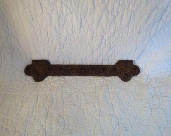 Vintage Rusty 11 inch Standard Steel Part