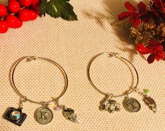 Two sets of friendship bracelets