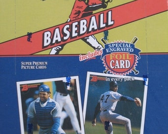 1993 Bogenschütze Baseball 24 Pack Box