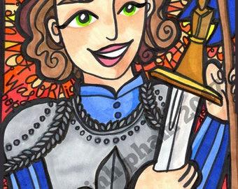 Joan of Arc: Immortal in Fire