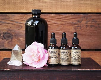 Echinacea Tincture // Immunity Booster // Cold & Flu // Herbal Extract