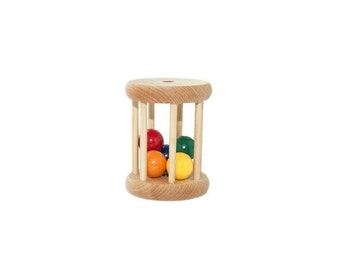 Ball Cylinder - Montessori Infant Toy