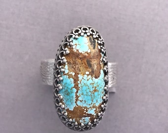 Size 7 turquoise ring