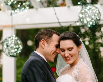 Plus Size Wedding Shawl, Convertible Ivory Lace Bridal Shrug, Wedding Cover Up Curvy Bride Bolero, Ivory Lace Versatile Wrap For Bride DL107