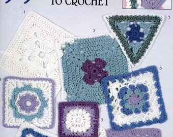 99 Granny Squares to Crochet  Pattern Booklet