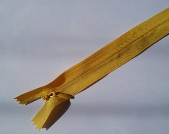 29 cm yellow invisible zipper No. 39
