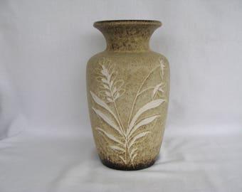 "West German Art Pottery Vase 202/24. About 9.5"""