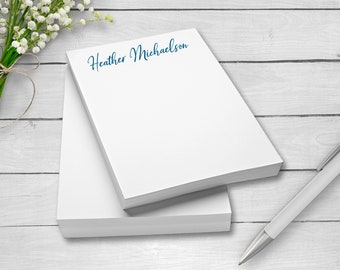 Personalized Note Pads, Glued Note Pads, Personalized Notepads,Custom Notepads, To-Do Lists, Grocey Store Lists, Pretty Notepads
