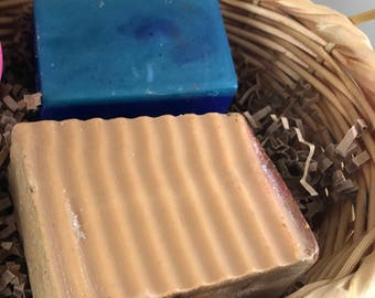 Little Box of Lather - 2 bars of long lasting Handmade Soap - You choose the scent - Great gift idea