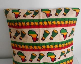 "Cushion cover 40 cm x 40 cm 30 x 50 patterns ""Africa"""