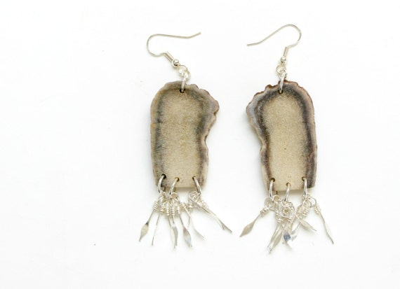 Antler Fringe Earrings