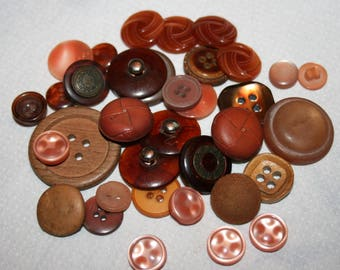 Collection of antique celluloid buttons- Collectible Antiques for High Quality Jewelry Crafts Clothing Artisans & Sewing