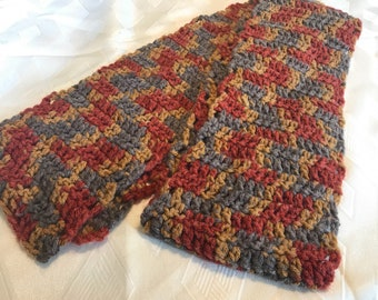 Fall colored scarf