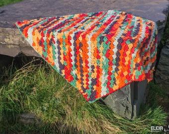 Mexicana afghan blanket