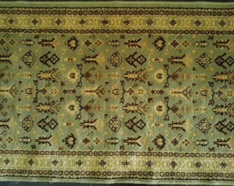 """1970's 100% Wool Belgian Carpet 49"""" x 23.5"""" - 2 AVAILABLE"""