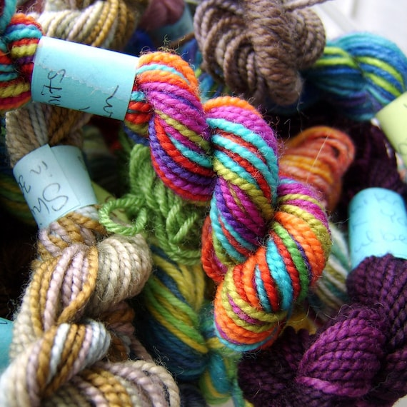 Spectrum Rainbow -  Mini Skeins Fingering Sock Yarn Kit - Mini Mania  (10)
