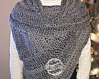 Knitted cowl/ Katniss vest/ katniss cowl/ katniss merino cowl/ katniss crochet cowl /  katniss handmade/ crochet cowl / crochet cowl merino
