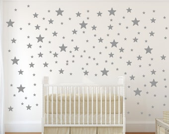 Lovely Star Wall Decals | Etsy
