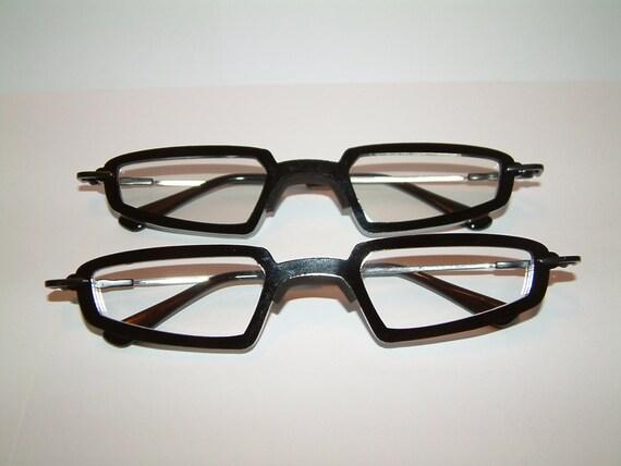 Anime black triangular frame cosplay costume costume glasses