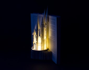 Book Art Sculpture - Paper Castle - Made to Order