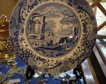 Spode 'Italian Blue 10 inch plate