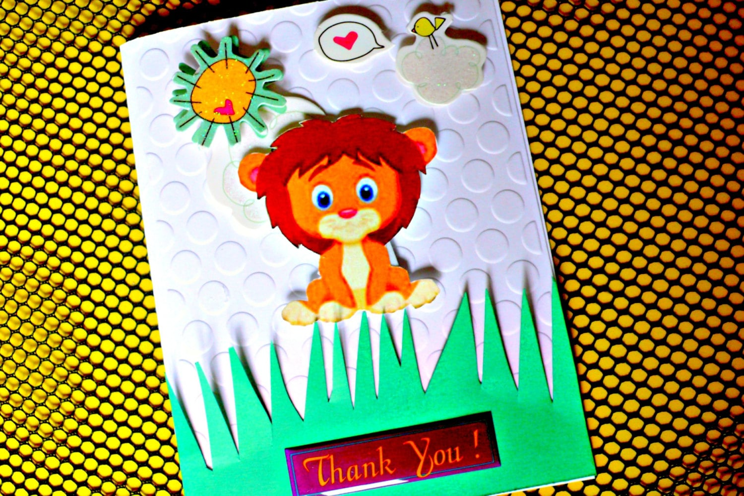 Thank you cards thank you cards kids handmade thank you zoom kristyandbryce Choice Image