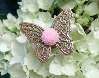 Butterfly Pin Pink