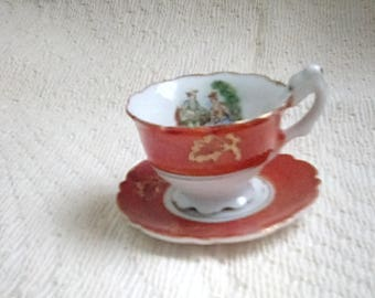 Vintage Minature Cup and Saucer