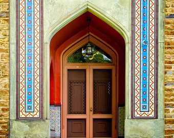 Olana Frederic Church Persian Art Persian Architecture Door Photograph Hudson River & MMA Lion Pin Persian Art Persian Jewelry Museum Jewelry