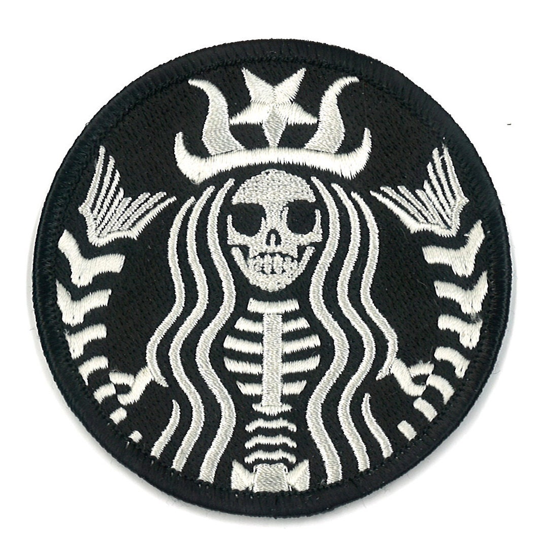 Starbucks coffee dead barista embroidered patch zombie zoom biocorpaavc Image collections