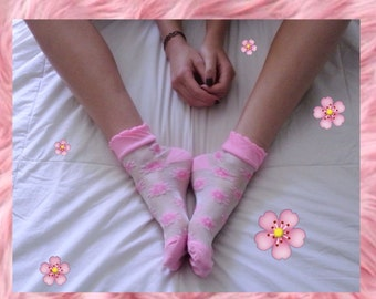 Custom Transparent Socks