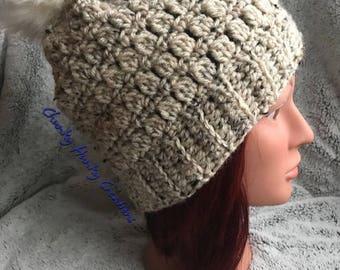 Crochet beanie, crochet hat