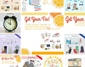 INSTANT DOWNLOAD | Skincare Facebook Party Images for Summer | Twitter Instagram | Rodan Fields, Skinvitation, Fashion