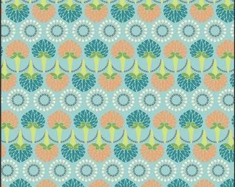 SALE - Art Gallery Fabrics - Color Splash - Aqua Foliage Cascade